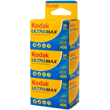 KODAK ULTRA MAX 400 135/36 VT (PACK 3) -24389